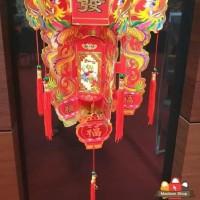 HOT SALE Sale Tenlung Imlek Naga Kecil Lampion Lipat 3D Dekorasi Imlek