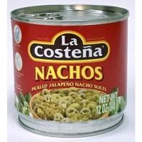 La Costena Sliced Pickled Jalapenos/Acar cabe jalapenos 340 Gr