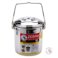 Zebra Loop Handle Pot 12 Cm Auto Lock W/Deep in (151624) / Rantang SS