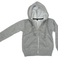 New Sale Dijual Jaket Anak Hoodie Zipper Abu Misty Polos Simple
