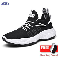 Leedoo Sepatu Olahraga Fashion Sneakers Pria MR213