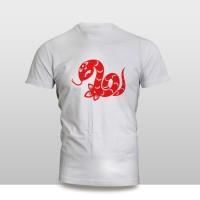 Kaos Baju Pakaian Imlek SHIO ULAR
