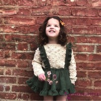✽UP✽Baby Kids Girl Strap Skirt Suspender Overalls Outfit Clothes