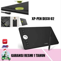 XP PEN DECO 02 DRAWING TABLET Alternatif Wacom Dan Huion Bonus Leng