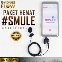 PEKET SMULE Microphone Mic Clip on Mic 3.5mm For Smartphone - PC on