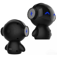 DINGDANG 2 in 1 Speaker Bluetooth & Power Bank Model Robot [Hitam]
