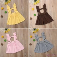 ✽UPUP✽Kids Baby Princess Girls Outfit Clothes Suspender Skirt