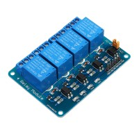 Sos 10 pcs Geekcreit 24 V 4 Channel Relay Modul Untuk Arduino