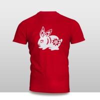 Kaos Baju Pakaian Imlek SHIO KELINCI