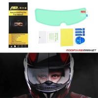 Anti Fog Helm Stiker Anti Fog Khusus Helm PREMIUM HIGH QUALITY