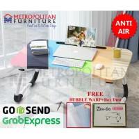 Meja Lipat Laptop MDF / Meja Belajar Anak Serbaguna / Folding Table