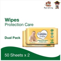 Cussons Baby Wipes Protect Care 50s+50s