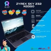 Laptop ZYREX Sky 232 N3350 Mini RAm 4Gb ssd 256GB 11.6FHD win 10 resmi