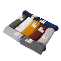Muji Organic Cotton Waffle Bath Towel Thin Assorted Colors