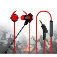 Earphone Gaming For Mobile Legend PUBG Headset Mic Gaming
