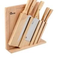 OXONE - OX-95 - 7Pcs Wooden Knife & Chop Board Set