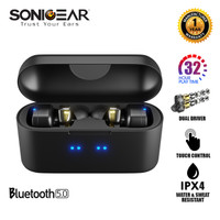 Sonicgear TWS 7 Pro Gaming Wireless Bluetooth Earphone 1Tahun Garansi