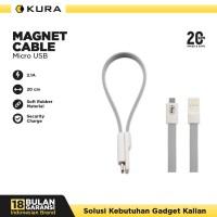 KURA Magnet Cable - Kabel Data Micro USB