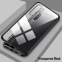 Realme C15 OPPO PREMIUM MAGNETIC Glass Case Casing Magnetik 2IN1