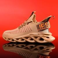 Sepatu Sneakers Pria Terbaru Air Force Roar Import Sport High Quality - Putih, 40