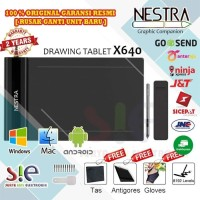 Veikk S640 - Nestra S 640 drawing pen tablet support android Garansi