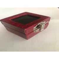 45 KOTAK RING BOX RED MEWAH KULIT PLASTIC BLUDRU PERNIKAHAN Cincin