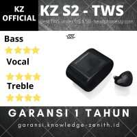 Knowledge KZ S2 Hybrid TWS headset bluetooth with gaming mode