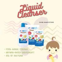 [Hemat Isi 3] Pure Baby Liquid Cleanser 700ml Sabun Botol Tempat Makan