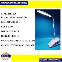 DIGIGEAR LAMPU BELAJAR MEJA BACA USB LED LAMP DL-200