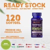 Puritan's Pride Resveratrol 100mg - 120 softgel