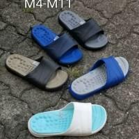 Sandal Pria Crocs Reviva Slide Original Crocs