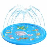 Tikar air mancur Mainan anak Tiup untuk musim panas - Dolphin 170cm