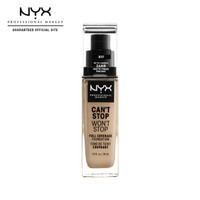 NYX Prof. Face Make Up Can't Stop Won't Stop Matte Foundation - Buff
