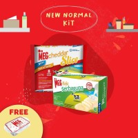 MEG Starter Pack - Keju Serbaguna 165g & Cheddar Slice 8 (New Normal)