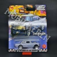 Hot Wheels Boulevard Hoonigan 55 Chevy Bel Air Gasser Black Chrome