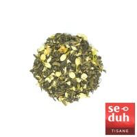 WHITE JASMINE Tea Blend - Teh Hijau Melati / Jasmine Green Tea 15 gram