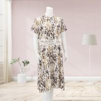 Lunaci Gold Leopard Home Dress