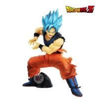 Action figure Dragon Ball goku super saiyan GOD blue maximatic edition