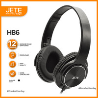Headset   Headphone JETE HB6 Stereo Sound Full Bass - Garansi 1 Tahun