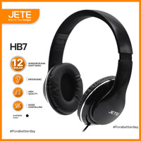Headset   Headphone JETE HB7 Stereo Sound Full Bass - Garansi 1 Tahun