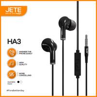 Earphone   Headphone   Handsfree JETE HA3 with Audio Power Bass