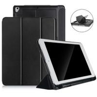 iPad Air 2 3Fold Smart Case/Cover w.(Pencil,USB & Card) Holder