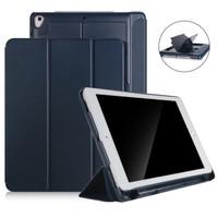 "iPad Pro 9.7"" - 3Fold Smart Case/Cover w.(Pencil,USB & Card) Holder"