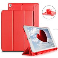 "New iPad 2018 9.7"" 3Fold Smart Case/Cover w.(Pencil,USB & Card) Holder"