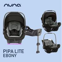 Nuna Pipa Lite with Base / Ebony / Fog / Car Seat / Kursi Mobil Bayi