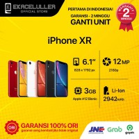 IPHONE XR 256GB ALL COLOUR SECOND ORIGINAL - Putih