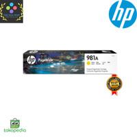 Tinta HP 981A Yellow Original PageWide Cartridge