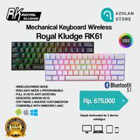 royal kludge rk61 mechanical keyboard wireless