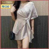 M964 Baju Atasan Wanita Sabrina Blouse Import All Size