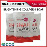 SNAIL BRIGHT COLLAGEN SOAP/WHITENING SOAP/SABUN BATANG PENCERAH